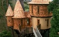 castle tree house for adults outdoor-space-ideas