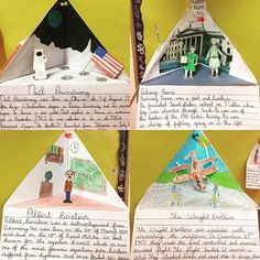 Close up of the people in history! 3D characters! Brilliant display! #peopleinhistory #art #history #iteachtoo