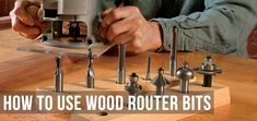 If you're new to wood cutting, there are hundreds of options with using router bits. In this guide we will explain how to use them properly.