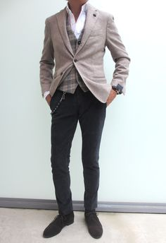 The Waistcoat brings the outfit together