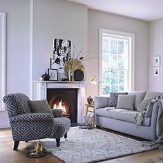 Our latest Diplomat collection in a neutral slate offers a wonderfully adaptable and liveable look that will take you through the seasons. http://www.multiyork.co.uk/fabric-sofas/diplomat-sofa