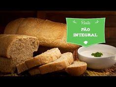 Vídeo receita de pão 100% integral.