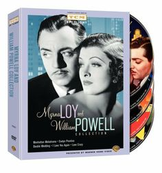 Myrna Loy and William Powell Collection (Manhattan Melodrama / Evelyn Prentice / Double Wedding / I Love You Again / Love Crazy) DVD ~ Myrna Loy
