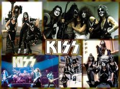 Kiss Pictures, Hot Band, The Rock, Hard Rock, Rock Bands, Wallpaper, Movie Posters, Art, Kissing Pics