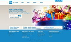 amex website by Sara Maharssi, via Behance