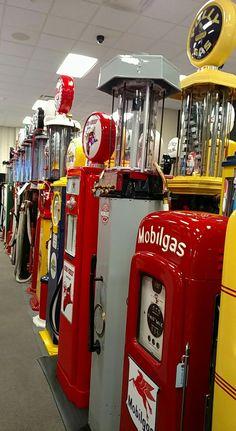 Restored Original Gas Pumps Collection