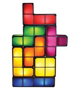 Tetris lamp - so COOL!