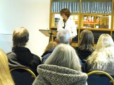 Helen Turnbull reading at Brittle Star Launch, Barbican Library Nov 2013 Brittle Star, Star Magazine, Barbican, Bean Bag Chair, Product Launch, Stars, Reading, Sterne, Reading Books