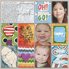 Project Life - Week 9 Left - Scrapbook.com