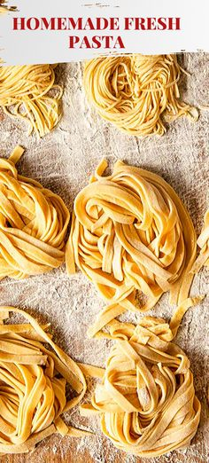 Would you like to learn how to make authentic Italian fresh pasta? It's the easiest thing in the world as the recipe only has 2 ingredients! Flour and eggs! Pasta Recipes, Cooking Recipes, Drink Recipes, Dinner Recipes, Pasta Soup, Best Italian Recipes, Crazy Cakes, Fresh Pasta, Homemade Pasta