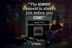 Stephen King, On Writing: A Memoir on the Craft Best Quotes From Books, Book Quotes, Good Readers, Any Book, Our Life, Memoirs, Free Books, Highlight