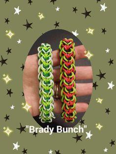 "New ""Braidy Bunch"" Rainbow Loom Bracelet/ How To Tutorial by Loves2Loom"