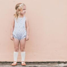 The Charlotte Romper By Patito Bebe