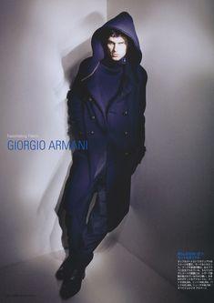 A Giorgio Armani Clad Arthur Gosse Graces Pen Magazine #322 - | The Fashionisto: The Latest in Fashion from Runway to Print