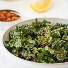 The BEST Kale Salad HealthyAperture.com