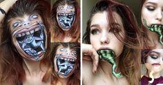 Esta maquilladora de 19 años tiene una habilidad asombrosa | Bored Panda