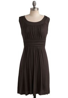 I Love Your Dress in Chocolate -- erg, another amazing dress that doesn't come in my size. irritating, #ModCloth