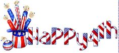 animated gif 4th of july | July 4th Hat Fireworks Sparklers Sign Icon Icons Emoticon Emoticons ...
