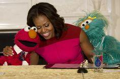 IN BEELD. Hoe Michelle Obama een van de populairste First La... - Het Nieuwsblad