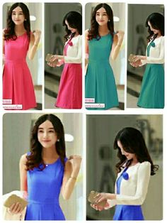 set Donna @81,bahan spandek Balon(cardi LD100,P60)(Dress LD94,P95),fit L,karet Blakang .jpg