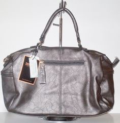Fashion Doctor Bag Pewter - Out Of My Kloset Boutique