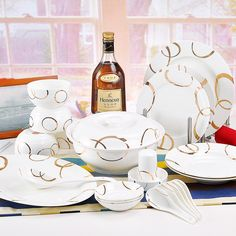 Find More   Information about Quality 56 dinnerware sets Chinese bowls ceramic golden unity set,High Quality  ,China   Suppliers, Cheap   from PRIX on Aliexpress.com US $20.00off $500.00 Vaild for 4 days US $20.00 off per US $500.00 Get US $20.00 off for single orders greater than US $500.00. When you purchase more than one item, please cart to get the discount. Time remaining for promotion: 4d 23h 58m 29s