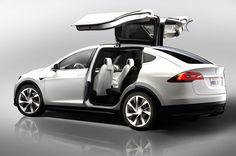 Tesla Model X: un guiño al DeLorean para el verdadero coche de Regreso al Futuro
