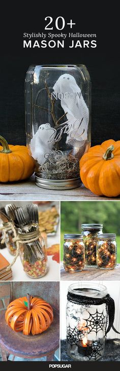 The Ultimate Guide to Decorating With Mason Jars This Halloween: What can't mason jars do?