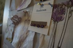 Sanderson glass bead trim