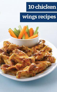 10 Chicken Wings Recipes