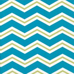 Boston International Ideal Home Range 20Count Paper Luncheon Napkins Chevron Kiwi On Ice -- Check this awesome product by going to the link at the image.
