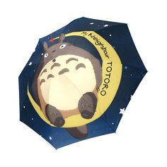 My Neighbour Totoro Foldable Umbrella - free shipping worldwide! Peftct gift for Totoro fans