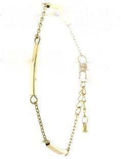 Delicate Gold Bracelet www.verdepiedra.com