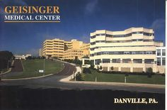 Geisinger Medical Center located in the heart of Danville offers state of the art technology for the medical field. A fabulous hospital and crisis center.