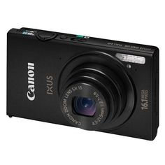 Canon IXUS 240 HS Digital Camera in Black  Slim metal body,16.1 Megapixels CMOS,3.2-inch touch screen with Touch Shutter,Wi-Fi for easy image sharing  £179.95