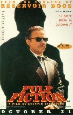 Cartel original US Vintage Movies, Vintage Posters, Film Pulp Fiction, Cinema Posters, Movie Posters, Ving Rhames, Blu Ray Collection, The Best Films, John Travolta