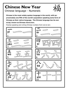 BBC - Schools - Festivals and Events - Chinese New Year - Worksheet