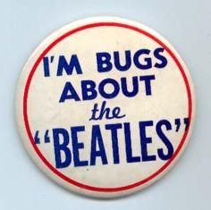 1964 Original Vintage Beatles Pin | eBay