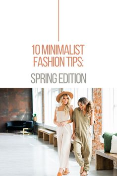 We're back with a seasonal update of our minimalist style tips! We want you to feel confident in recreating this look at home, so today we're sharing our tips and tricks, just in time for the warm spring weather. (Fashion Tips & Tricks, Casual Outfit Ideas, Cute Casual Outfits) Warm Spring, Spring Weather, Minimalist Style, Minimalist Fashion, Love Fashion, Womens Fashion, Fashion Tips, Cute Casual Outfits, Jean Outfits