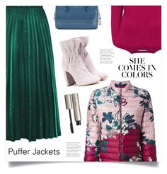 """She Comes In Colors"" by marina-volaric ❤ liked on Polyvore featuring L.K.Bennett, Chloé, Furla, Ilia and puffers"