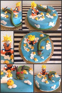 Dragon Ball Z Cake Decorations Gâteau Dragon Ball Z Par Les Gourmandises De Chani  Desserts