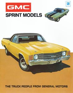 1972 GMC Sprint brochure