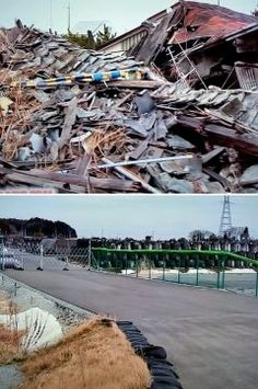 東日本大震災から6年!! いまだに がれき撤去されていな地域があるとテレビで放送されていたのを見て正直 驚きましたそれに放射能で汚染された砂袋の山 一日も早い復興を心よりお祈り申し上げます そして6年前の今日震災で亡くなられた方々のご冥福をお祈り申し上げます