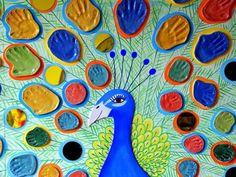 Collaborative Art Projects For Kids Auction Beautiful 43 Ideas Art Auction Projects, Class Art Projects, Welding Projects, Collaborative Art Projects For Kids, Peacock Art, Preschool Art, Art Classroom, Art Plastique, Art Activities