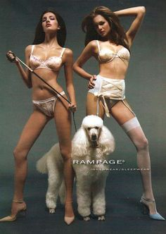 Rampage lingerie by Jean Arf, via Flickr