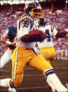 Wes Chandler 1981 Chargers