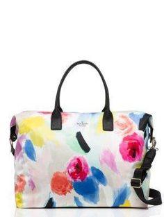my next travel bag  classic nylon lyla weekender - Kate Spade New York b823e735d2f7d