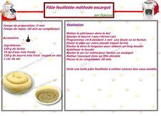 Companion :: Pâte feuilletée méthode escargot