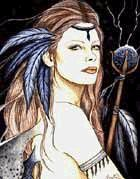 Airmid….A healing Goddess of the celtic order of Tuatha de Danaan, Goddess of medicinal plants and keeper of the spring. Regenerates, or brings the dead to life again.