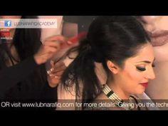 Asian Bridal Makeup Tutorial Lubna Rafiq Of Pakistani Indian Bengali